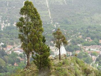 Cerro de la Virgen y Pico Alemán, Villa General Belgrano