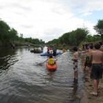 Kayak por el río Los Reartes.