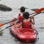 Kayak sobre el Río Los Reartes